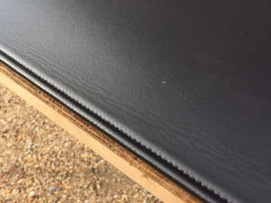 Black Table Felt Protector