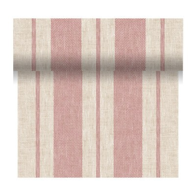 Extra Wide Matt Oilcloth Tablecloths, Linen Grey